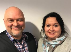 Stig Anders Ohrvik og Elisabeth Jørgenvåg