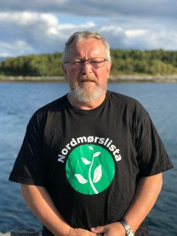 Terje Hals er gruppeleder for Nordmørslista i kommunestyret i Aure.